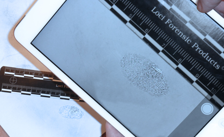 Fast processing and identifying fingerprints