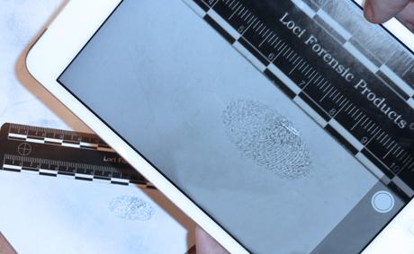 Sneller verwerken en identificeren van vingerafdrukken