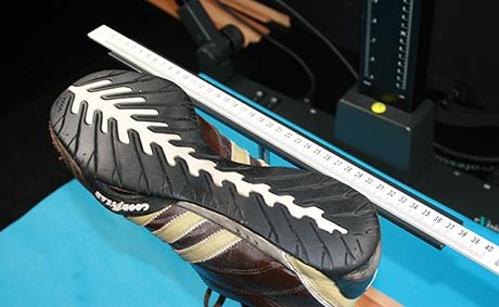 Automatisch schoenafdrukken vergelijken
