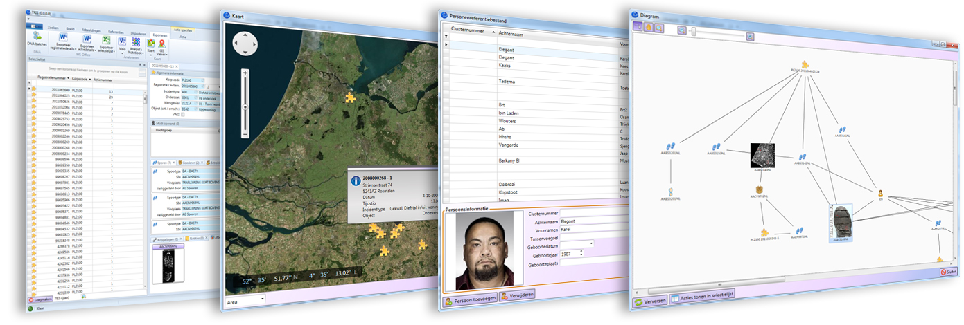 Police case management software